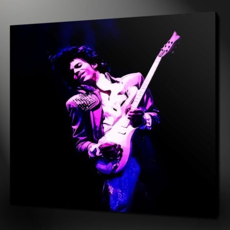 PRINCE CANVAS PRINT PICTURE WALL ART