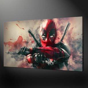 deadpool canvas print picture