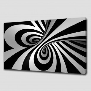 ABSTRACT SPIRAL LARGE CANVAS PRINT WALL ART