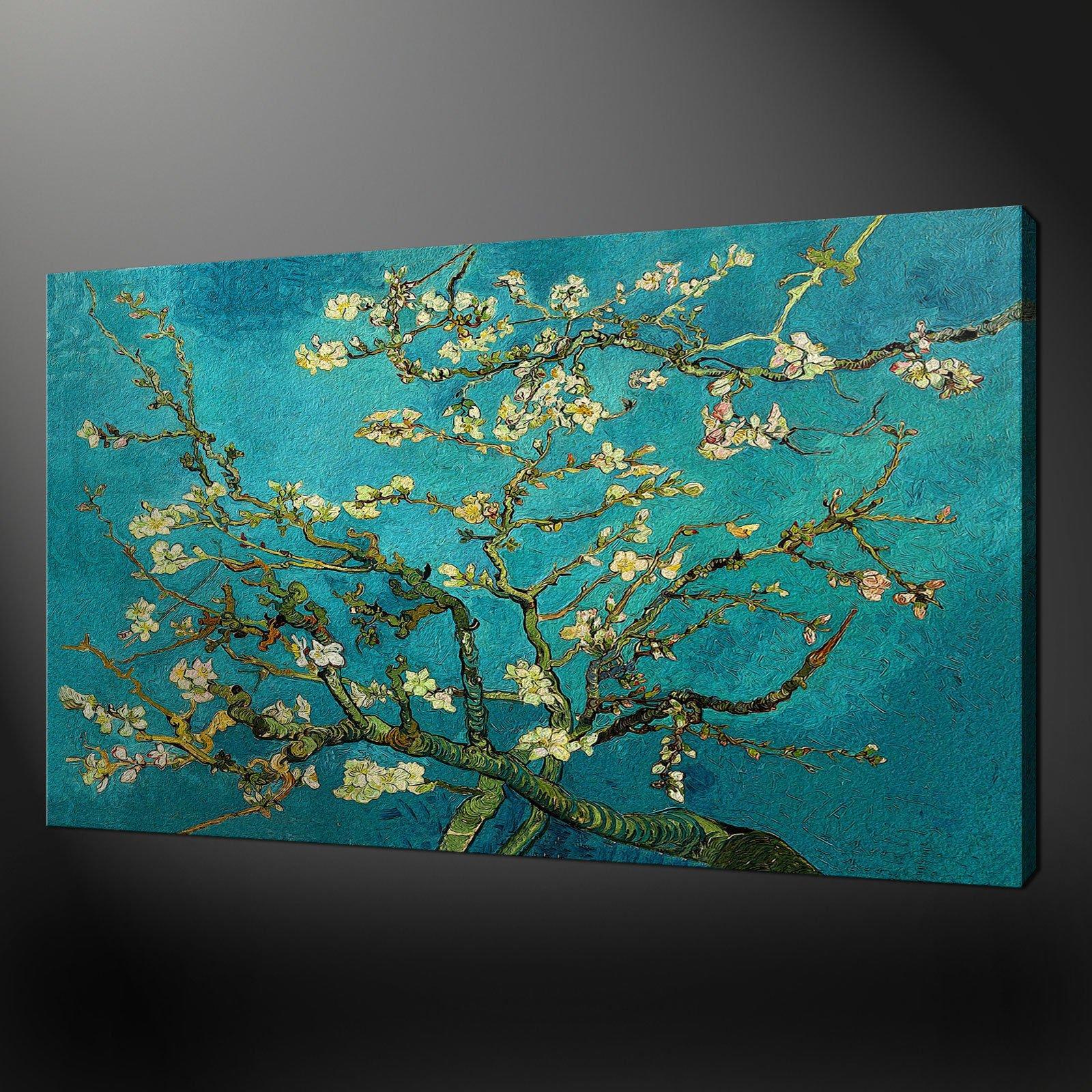 Almond tree van gogh canvas wall art pictures prints 20 x 16 inch free uk p p canvas print art - Wall decor art canvas ...