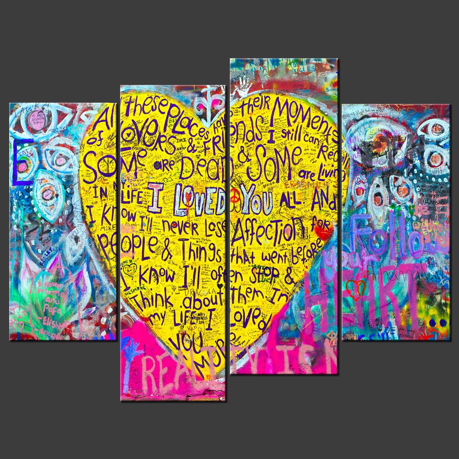 Graffiti Canvas Wall Art - Elitflat