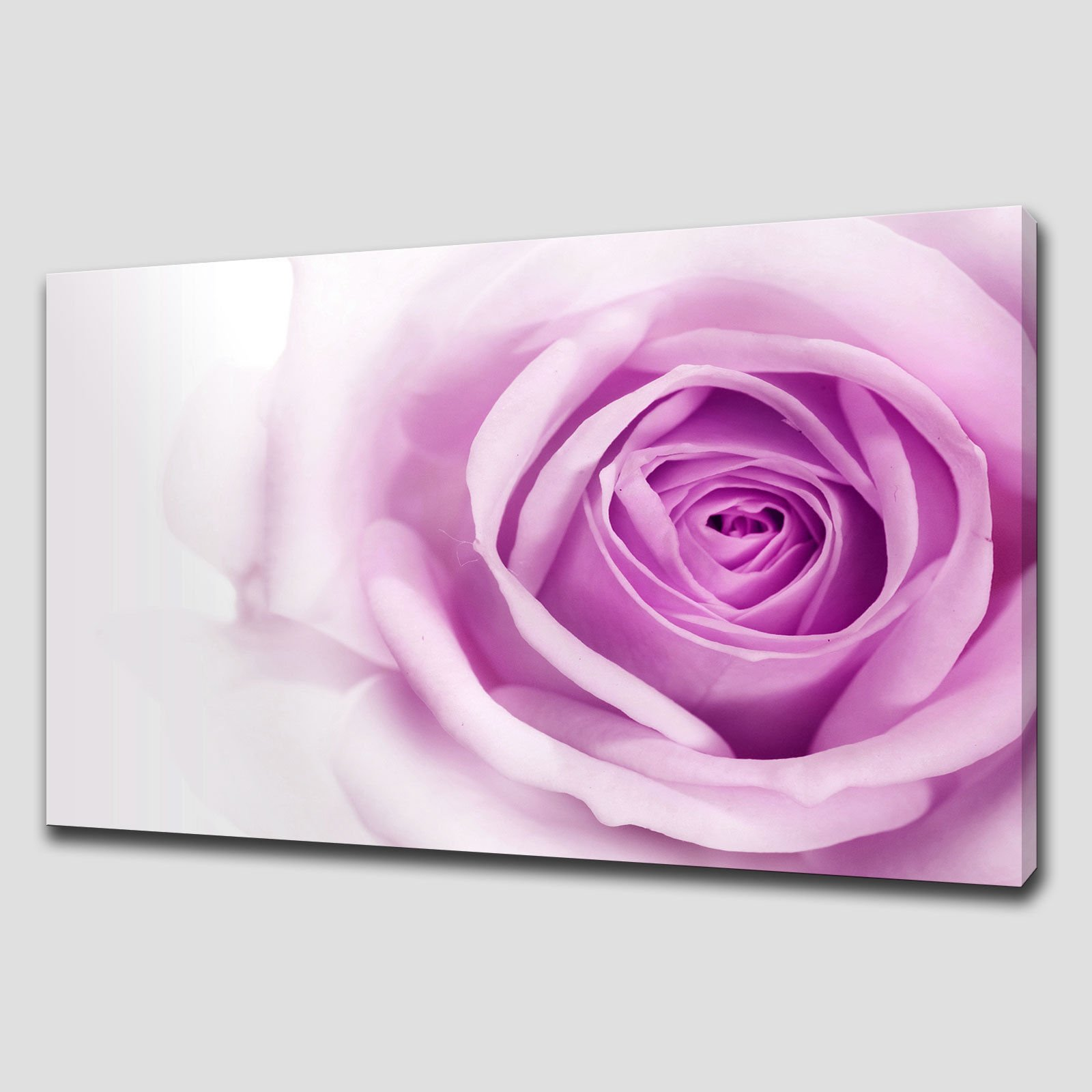 Purple rose wall art purple wall art house home with for Purple wall art