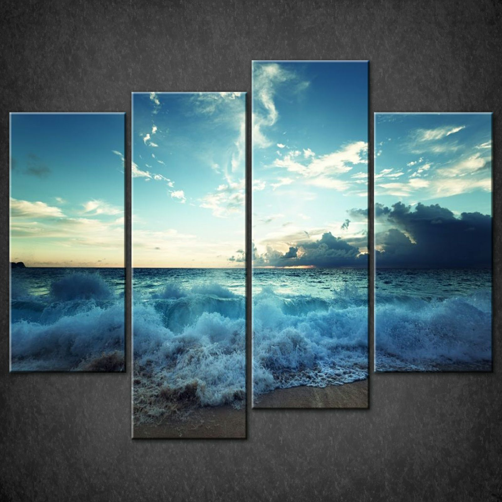Wall Art Split Canvas : Canvas print pictures high quality handmade free next